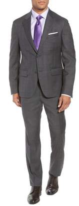 Nordstrom Trim Fit Plaid Wool Suit