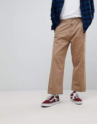 Obey Loiter Pants In Loose Cropped Fit