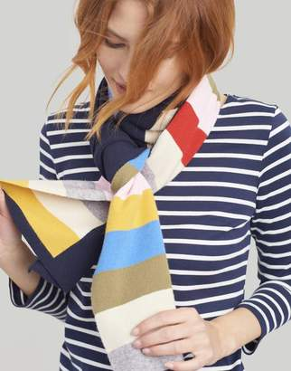 Joules Camel Marl Flurrywell Knitted Scarf Size One Size