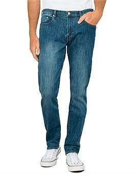Paul Smith Tapered Light Washed Stretch Denim Jean