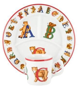 Tiffany & Co. 3-Piece Alphabet Bears Baby Set