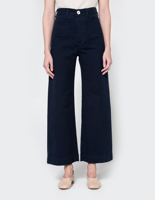 Sailor Pant in Midnight $395 thestylecure.com