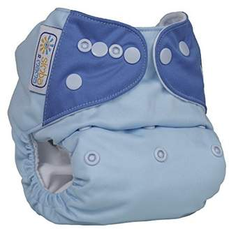Simba & Mama - Little Lion Cub - Pocket Cloth Diaper (bundle) - Surfs Up - One Size by & Mama