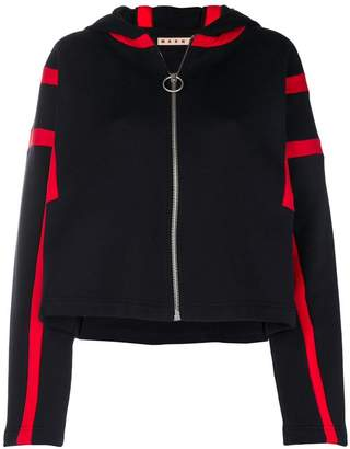 Marni cropped zip-up hoodie