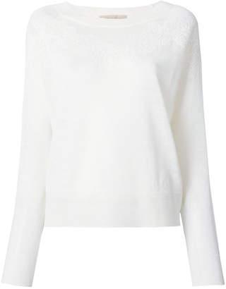 Vanessa Bruno lace detail sweater