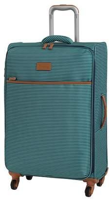 """IT Luggage 27.6\"""" Beach Stripes 4 Wheel Luggage"""