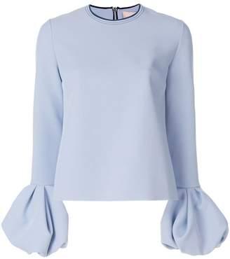Roksanda ruffled cuff blouse