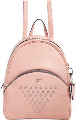 Guess Bradyn Small Backpack $118 thestylecure.com