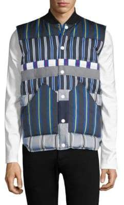 Tommy Hilfiger Edition Striped Button-Front Vest