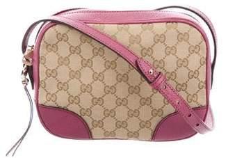 Gucci GG Canvas Bree Messenger Bag