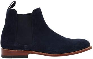 G.H. Bass & Co. & Co. Navy Suede Boots
