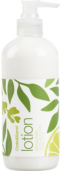 Crate & Barrel Kitchen Herb Hand Lotion