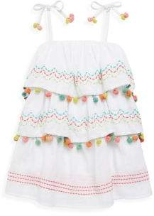 OndadeMar Little Girl's& Girl's Amazonia Cotton Dress