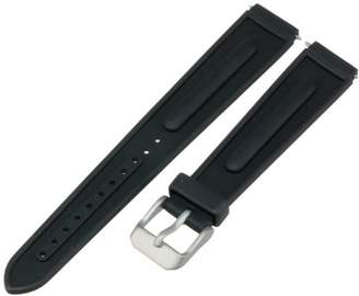 Momentum Women's ZC-16SLK Pathfinder 16mm Black SLK Rubber Watch Strap