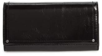 Treasure & Bond Glazed Leather Continental Wallet