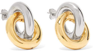 J.W.Anderson Gold And Silver-plated Earrings