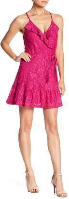 Love, Fire Ruffle Lace Dress