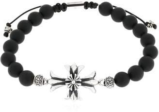 Cross Onyx Bracelet