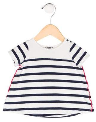 Jean Paul Gaultier Girls' Striped Knit Dress