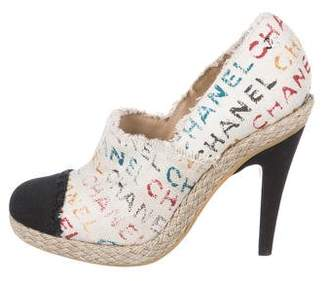Chanel Cap-Toe CC Booties