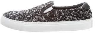 Diemme Tweed Slip-On Sneakers