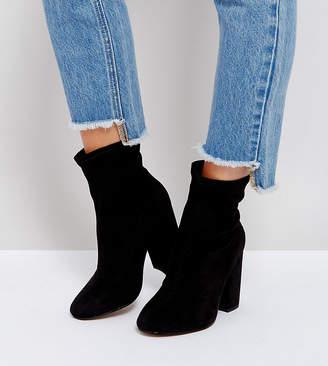 Asos Design ELABORATE Wide Fit Sock Boots