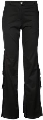 Tome flared fitted trousers