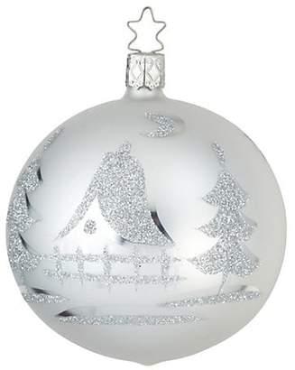Inge's Christmas Decor Glass Ball Christmas Ornament