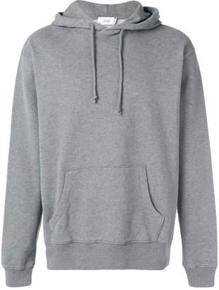 Closed octopus print hoodie