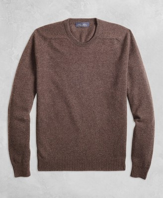 776e0407b0 Brooks Brothers Golden Fleece 3-D Knit Cashmere Crewneck Sweater