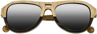 Earth Wood Clearwater Polarized Unisex Sunglasses