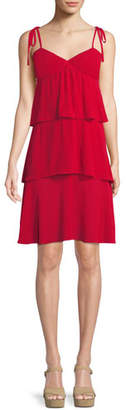 Club Monaco Gaerwen Tiered Sleeveless Dress