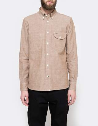 Rogue Territory Jumper Shirt Brown Chambray
