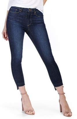 Women's Paige Hoxton High Waist Crop Ultra Skinny Jeans $239 thestylecure.com