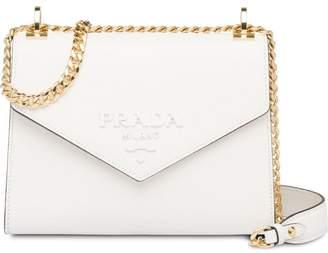 50656acc25ba Prada White Saffiano Leather Handbags - ShopStyle