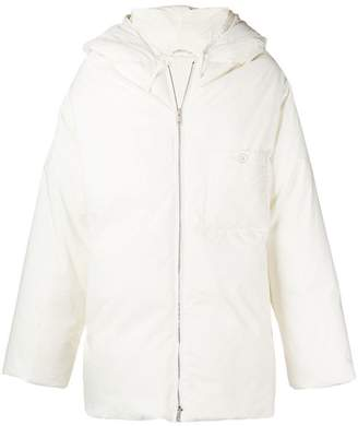 Jil Sander hooded padded coat