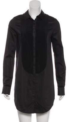 J Brand Long Sleeve Mini Shirtdress