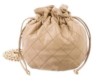Chanel Quilted Mini Bucket Bag
