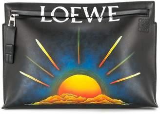Loewe sunset clutch