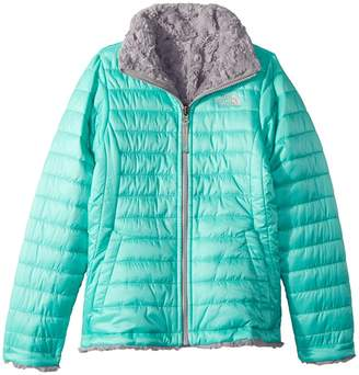 The North Face Kids Reversible Mossbud Swirl Jacket Girl's Coat