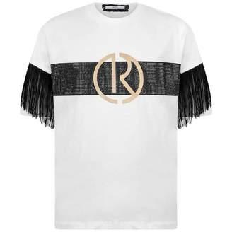 Relish RelishGirls Ivory & Black Tassel Top
