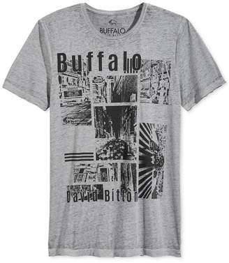 Buffalo David Bitton Mens Patch Logo Graphic T-Shirt Xl