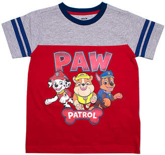 PAW PATROL Boys Crew Neck Short Sleeve Paw Patrol T-Shirt-Toddler