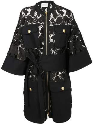 Pierre Balmain Mesh Coat
