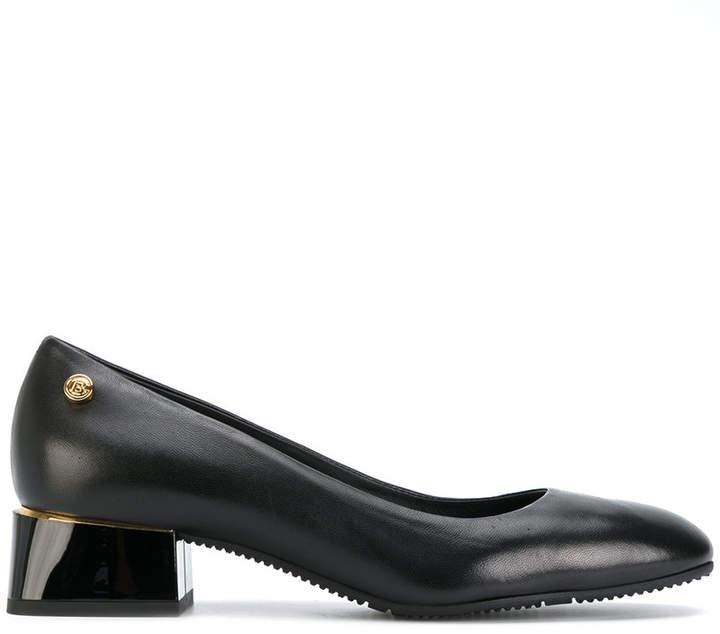Baldinini chunky heeled pumps
