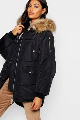 boohoo Oversized Padded Jacket