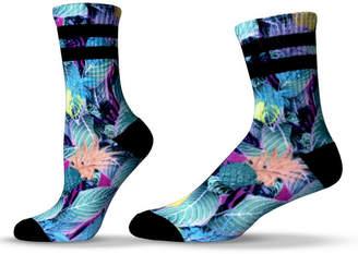 Unisox Unisex Tropical Pineapple Crew Socks