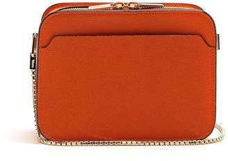 Valextra Dada grained-leather cross-body bag