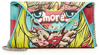 Moschino Printed Fabric Shoulder Bag