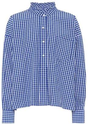 Etoile Isabel Marant Isabel Marant, Étoile Olena checked cotton shirt